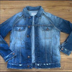 Current Elliot boyfriend jean jacket